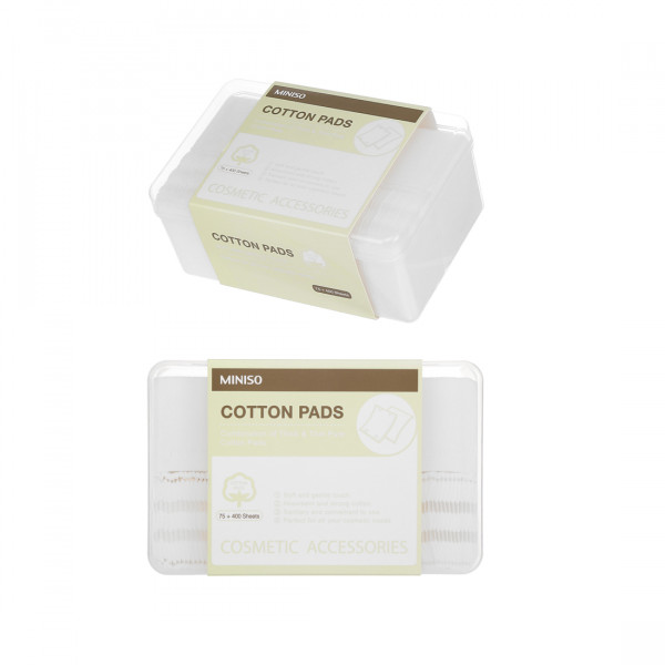 Combination of Thick & Thin Pure Cotton Pads