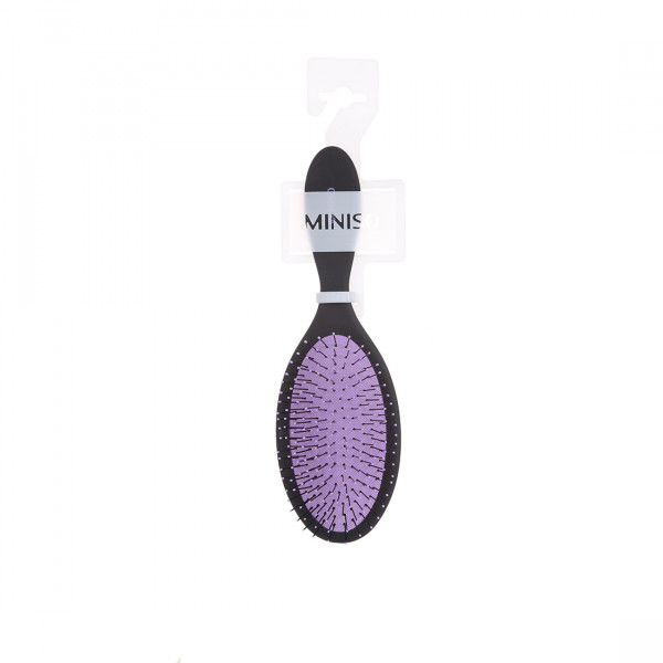 Fine and Soft Teeth Massaging Comb (Purp...