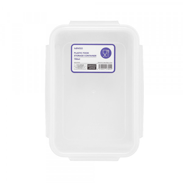 Plastic Food Storage Container 700ml