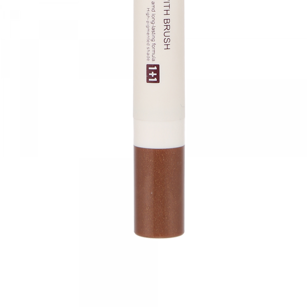 1+1 Eyeshadow Pencil with Brush (03 Bronze)