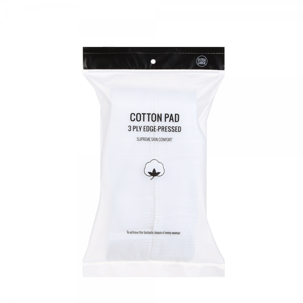 3 ply Edge-pressed Cotton Pad (140 count)